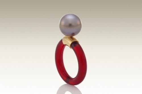 Jelly Ring (Garnet)