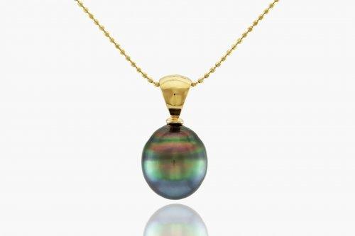 Circle pearl pendent by J. Hunter Pearls Fiji